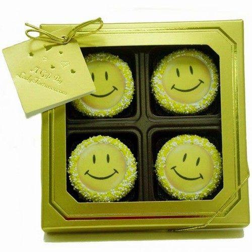 儿童节礼物—笑脸巧克力奥利奥礼盒