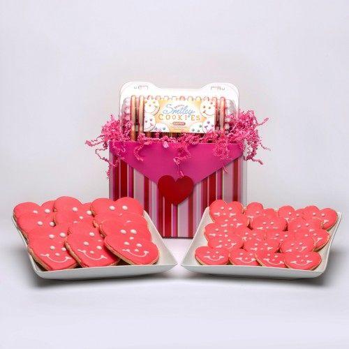 儿童节礼物—心形甜饼干礼品篮子