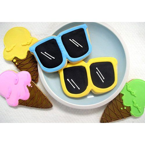 儿童节礼物—沙滩主题饼干
