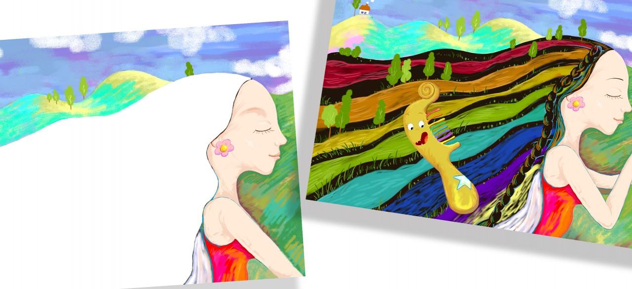 将绘画,手工和欣赏这三大块内容整合于一本书中,使幼儿美术教学活动图片