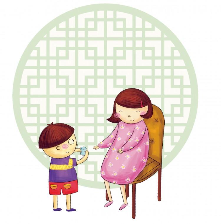 006漫画孩子和妈妈